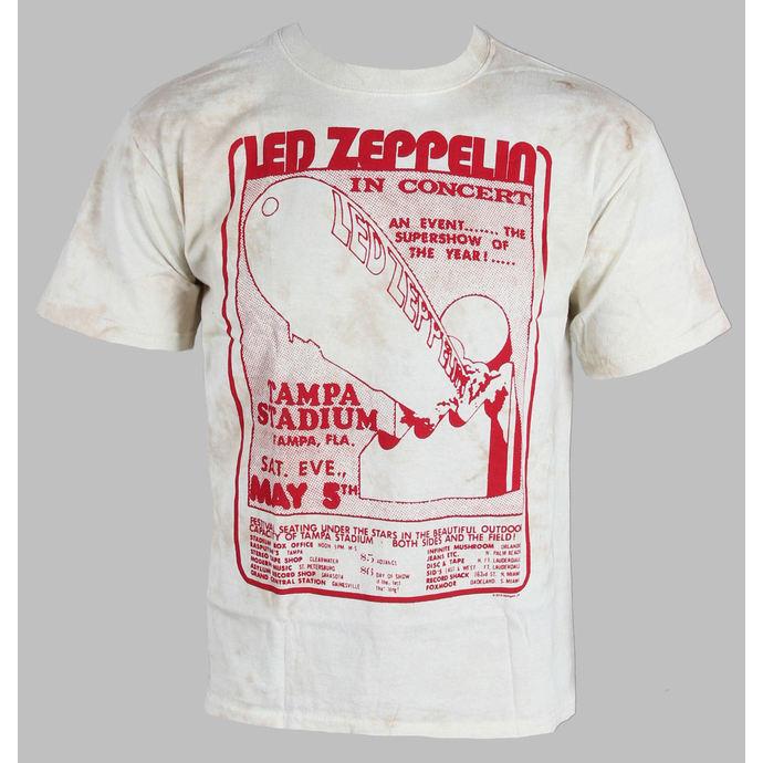 tričko pánské Led Zeppelin - In Concert - LIQUID BLUE
