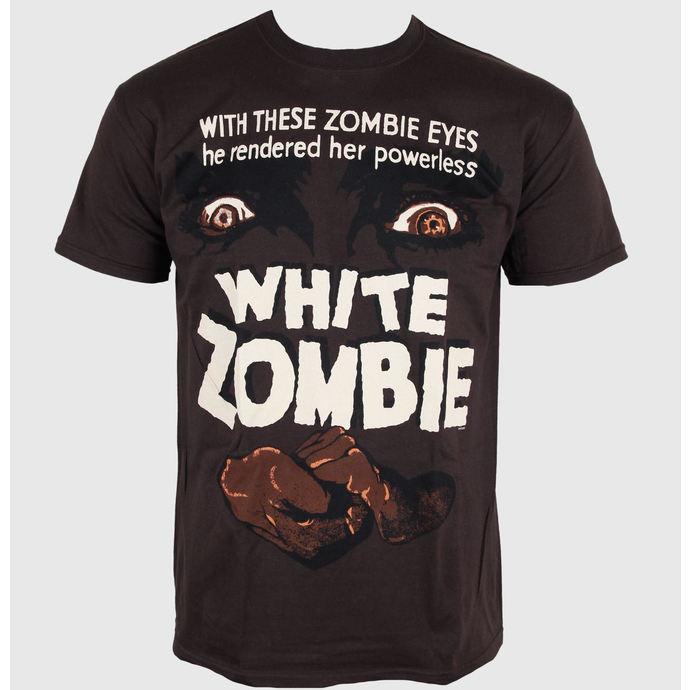 tričko pánské Horror - White Zombie - PLASTIC HEAD