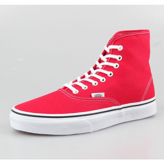 boty VANS - Authentic Hi - True Red