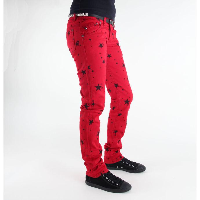 kalhoty dámské 3RDAND56th - Star Skinny Jeans - JM1097
