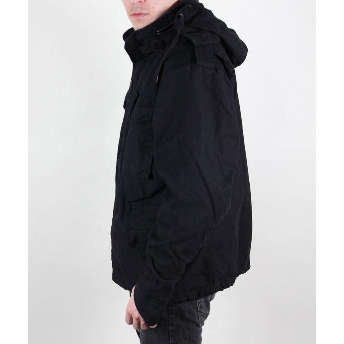 bunda pánská MMB - M65 Fieldjacket NYCO washed - BLACK