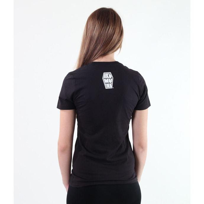 tričko dámské Akumu Ink - Black Tee