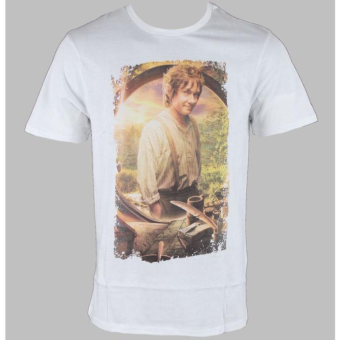tričko pánské Hobit - Bilbo - White