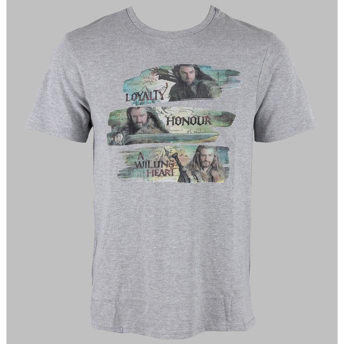 tričko pánské Hobit - Characters - Grey