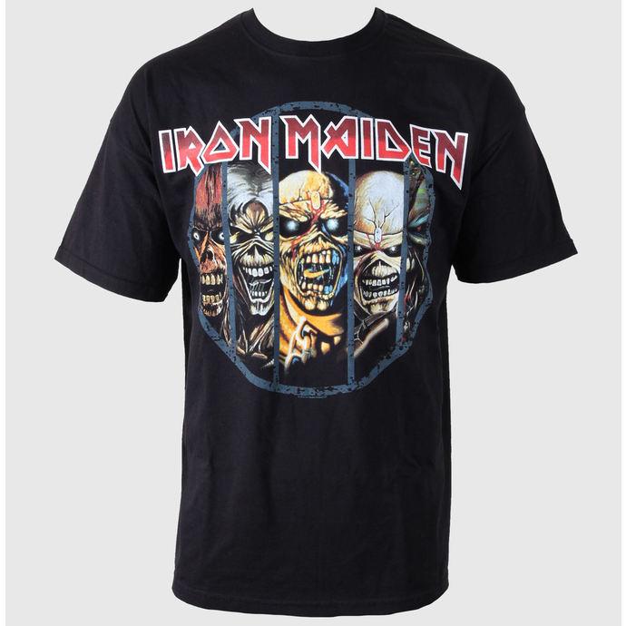 tričko pánské Iron Maiden - Eddie Candle - ROCK OFF