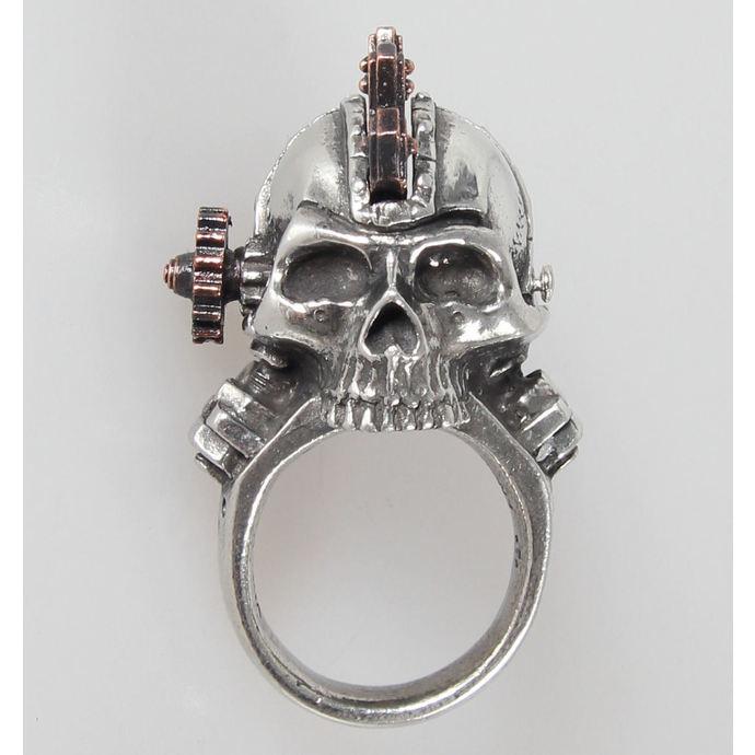 prsten Steamhead - Alchemy Gothic