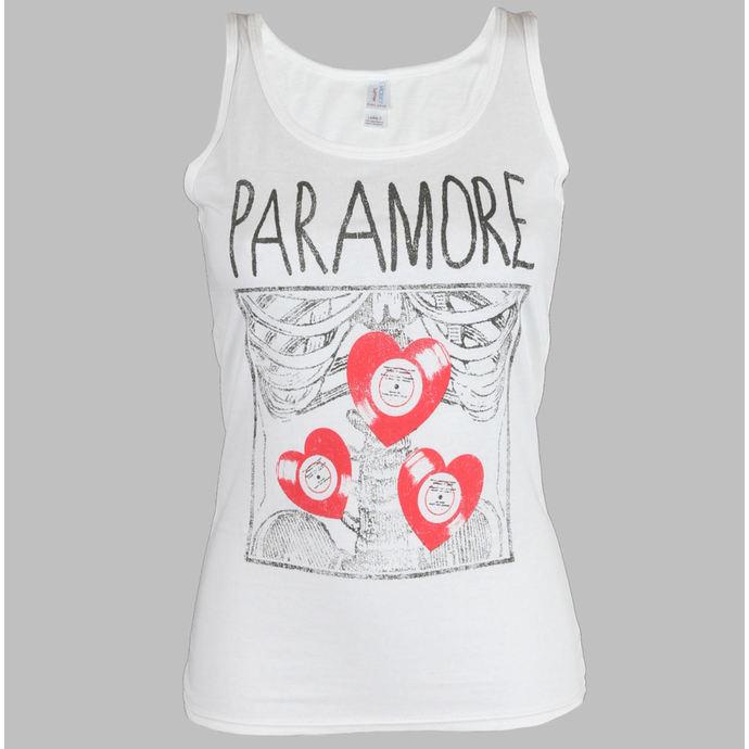 tílko dámské Paramore - X Ray White - LIVE NATION