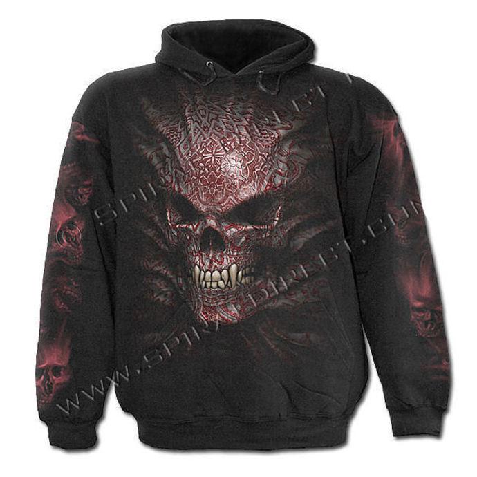 mikina pánská SPIRAL - Goth Skull