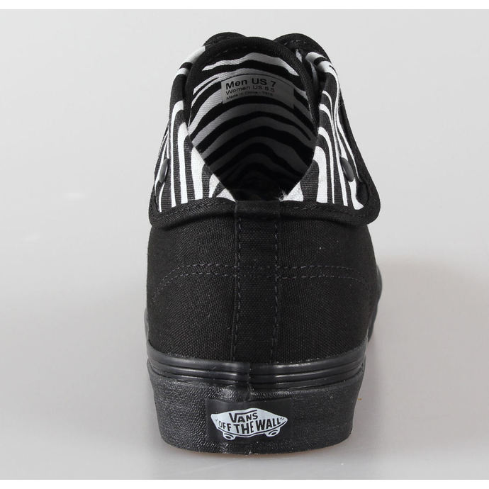 boty VANS - U Authentic Hi 2 - (Zebra) black/black