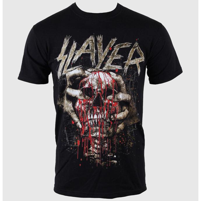 tričko pánské Slayer - Skull Clench - ROCK OFF