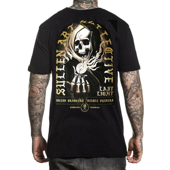 tričko pánské SULLEN - LAST LIGHT - BLACK