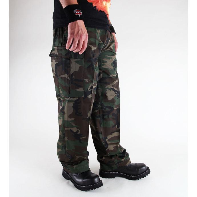 kalhoty pánské BRANDIT - US Ranger Hose Woodland