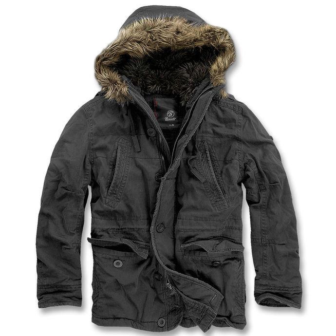 bunda pánská zimní BRANDIT - Vintage Explorer Black