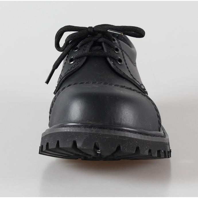 boty kožené 3dírkové BRANDIT - Phantom Black