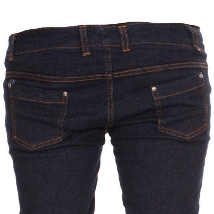 kalhoty dámské 3RDAND56th - Super Skinny Hipster - Indigo