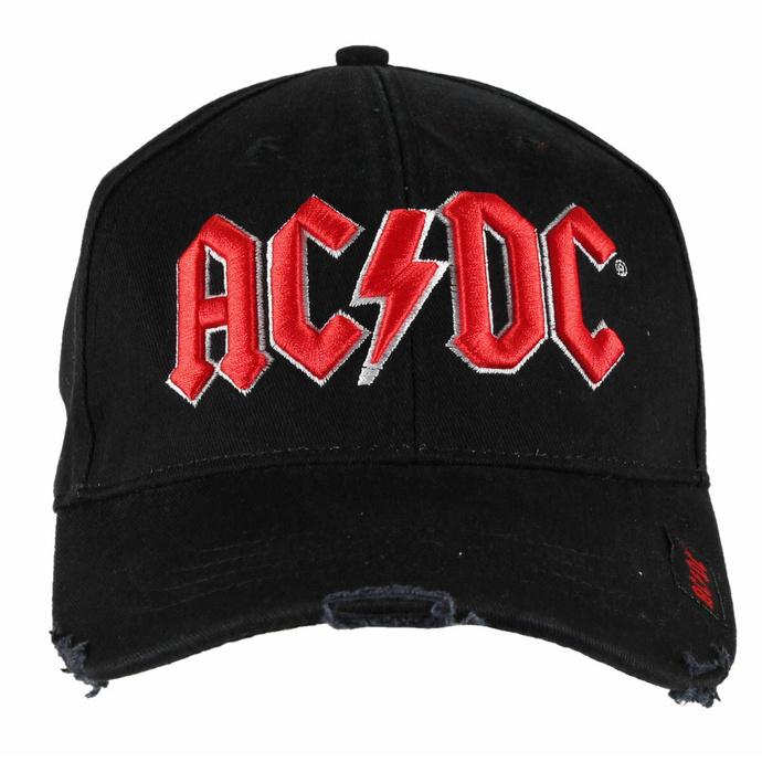kšiltovka AC/DC - Red on White Logo - ROCK OFF