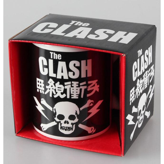hrnek The Clash - Skull & Crossbones - ROCK OFF