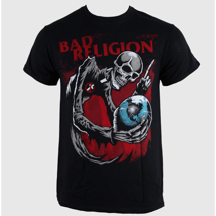 tričko pánské Bad Religion - Skull - Black - LIVE NATION