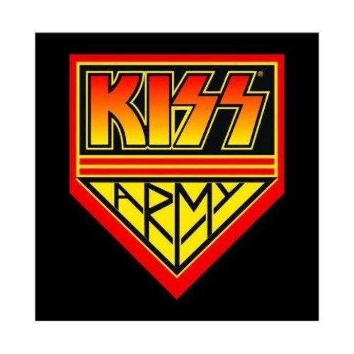 přání Kiss - Army - ROCK OFF