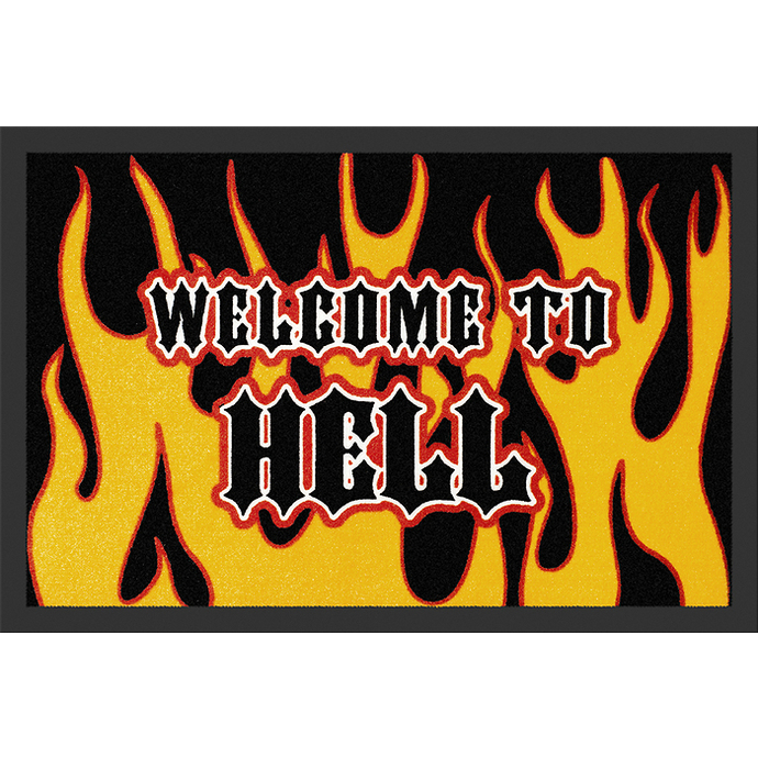 rohožka Welcome To Hell - ROCKBITES