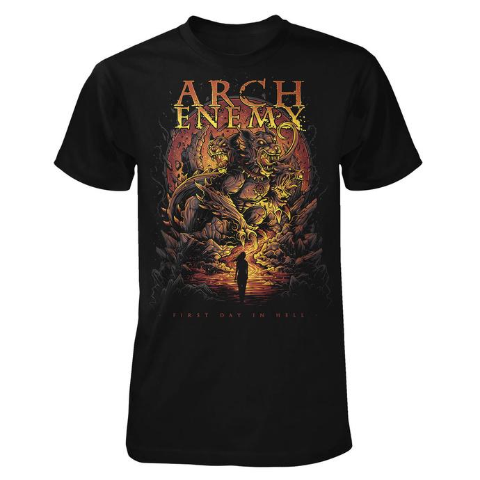 tričko pánské Arch Enemy - First Day In Hell - ART WORX