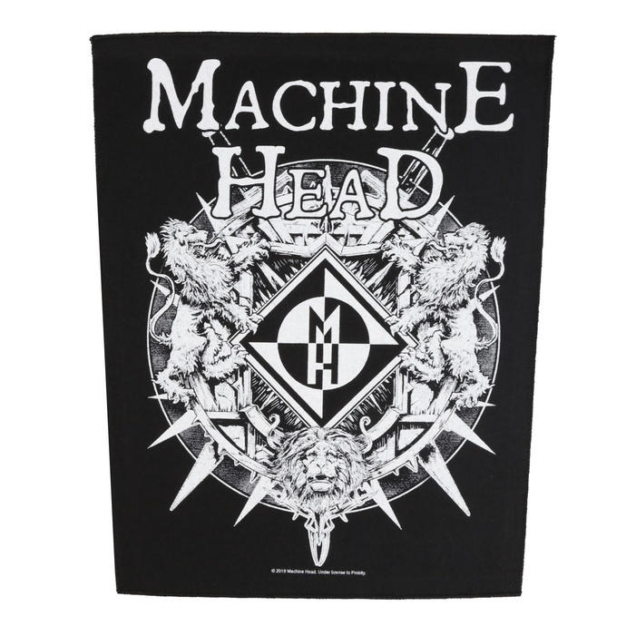 nášivka velká Machine Head - Crest - RAZAMATAZ