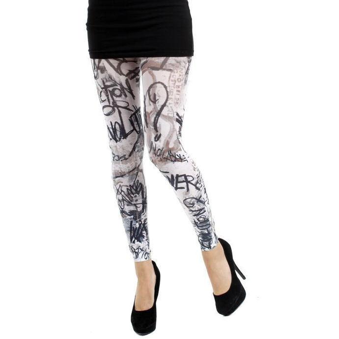legíny (punčocháče) PAMELA MANN - Evolution Footless Tights - White