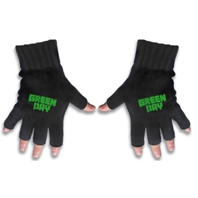 rukavice bezprsté Green Day - Logo - RAZAMATAZ