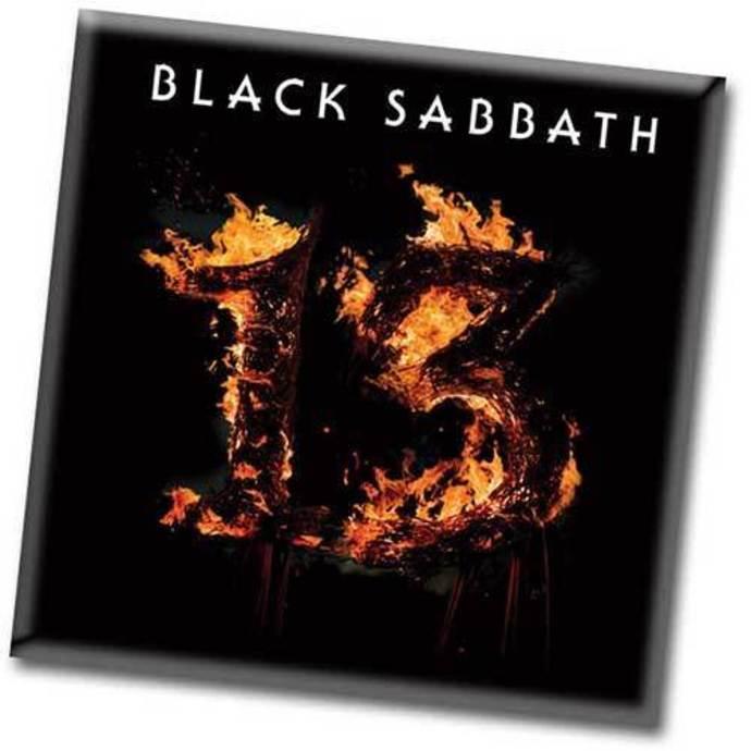 magnet Black Sabbath - 13 - ROCK OFF