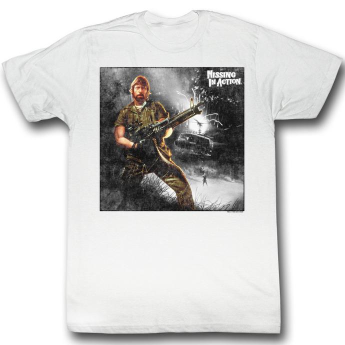 tričko pánské Nezvěstní v boji (Chuck Norris) - My Way - AC
