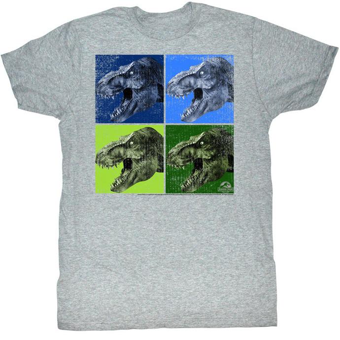 tričko pánské Jurský park - Ermuhgerd Grrr - AC