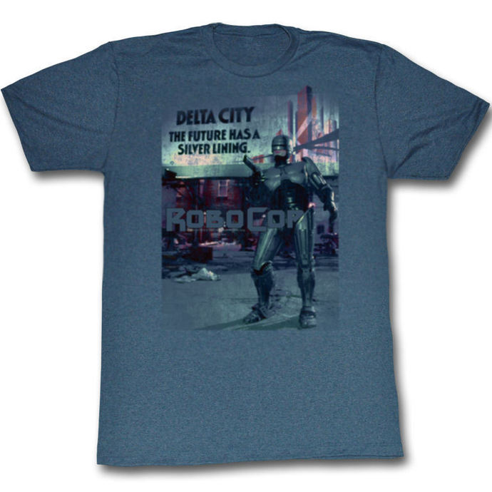 tričko pánské Robocop - Silver - Lining - AC