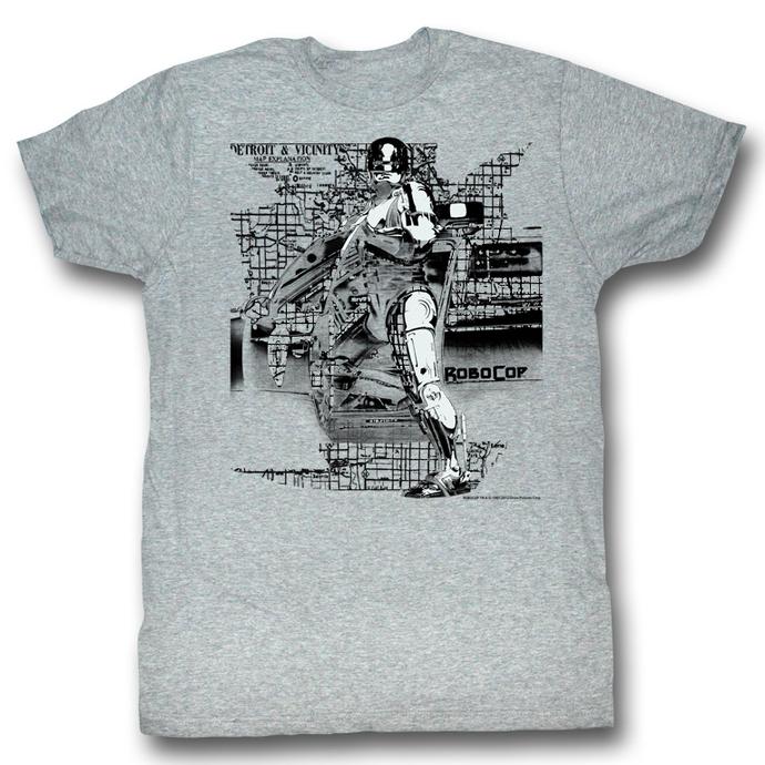 tričko pánské Robocop - Detroit - AC