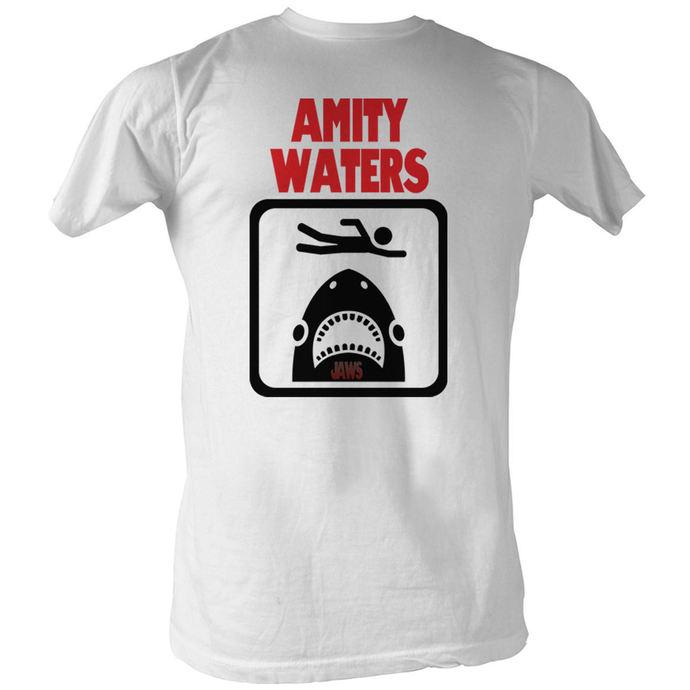 tričko pánské Čelisti - Amity Waters - AC