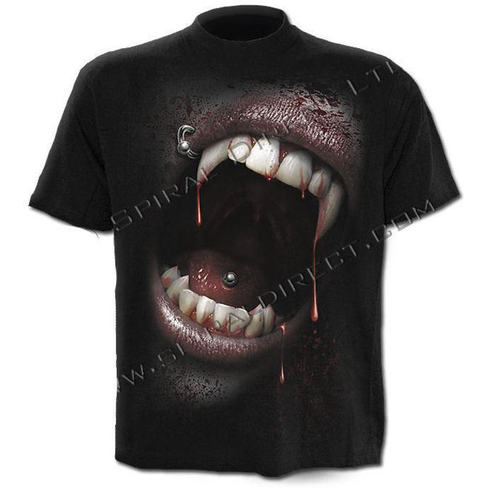 tričko pánské SPIRAL - Goth Fangs
