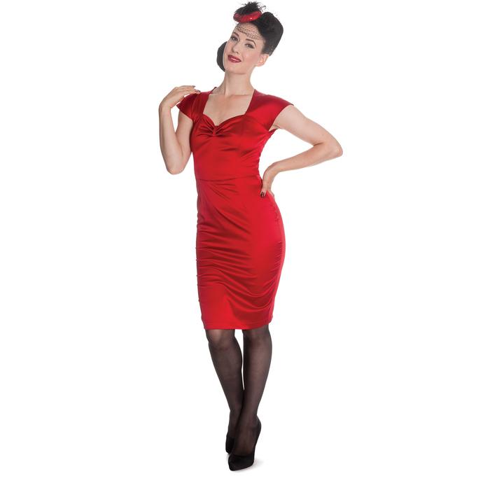 šaty dámské HELL BUNNY - Angie - Red