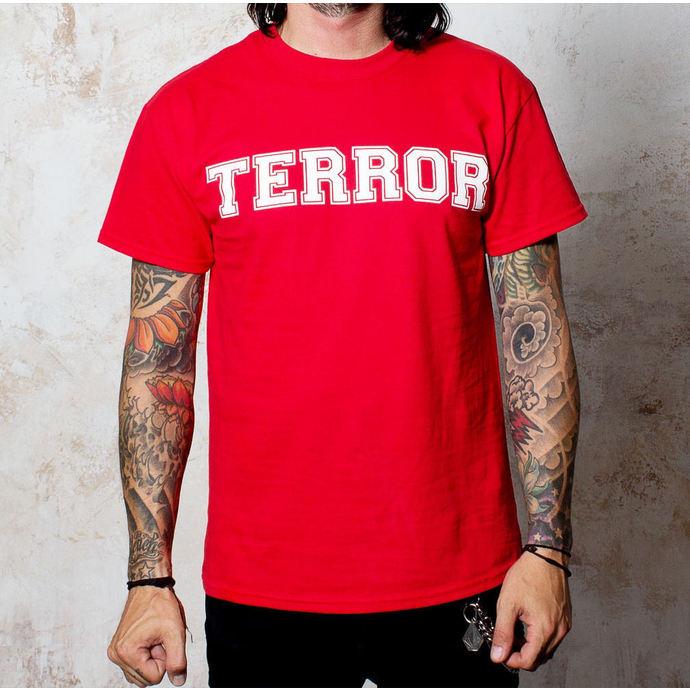 tričko pánské Terror - BigT - Red - BUCKANEER
