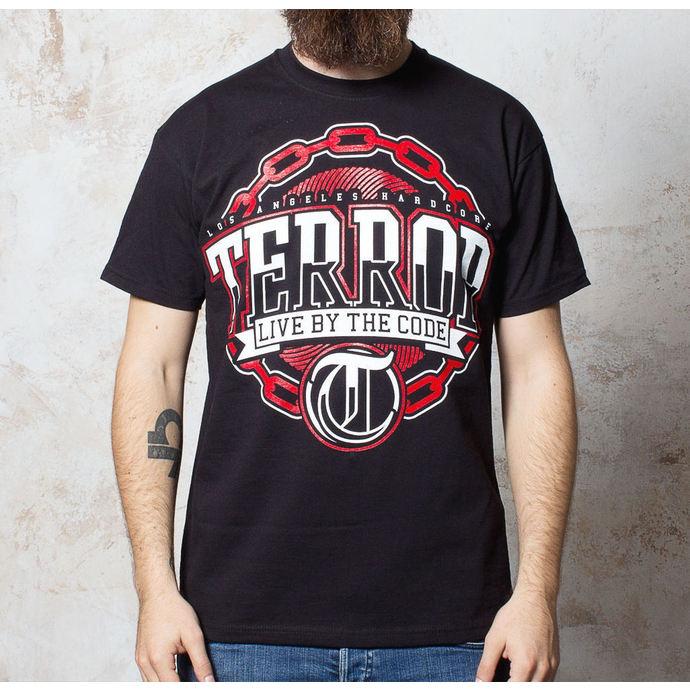tričko pánské Terror - Chain - Black - BUCKANEER