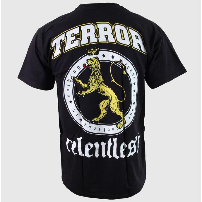 tričko pánské Terror - Relentless - Black - BUCKANEER