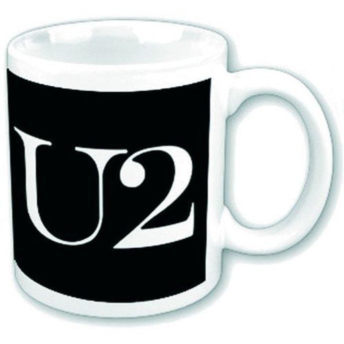 hrnek U2 - Logo - ROCK OFF