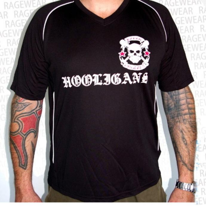 tričko pánské (dres) Rancid - Hooligans - Black - RAGEWEAR