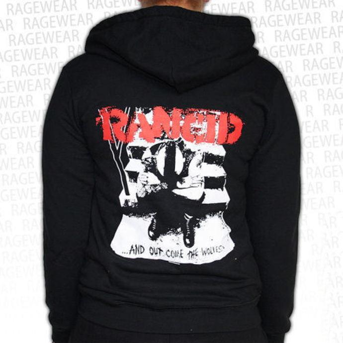 mikina dámská Rancid  - Wolves - Black - RAGEWEAR