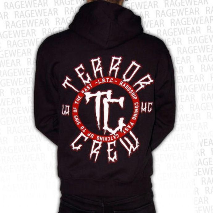 mikina pánská Terror - Hardship - Black - RAGEWEAR