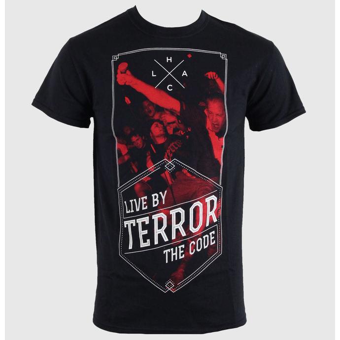 tričko pánské Terror - Hexagon - Black - RAGEWEAR