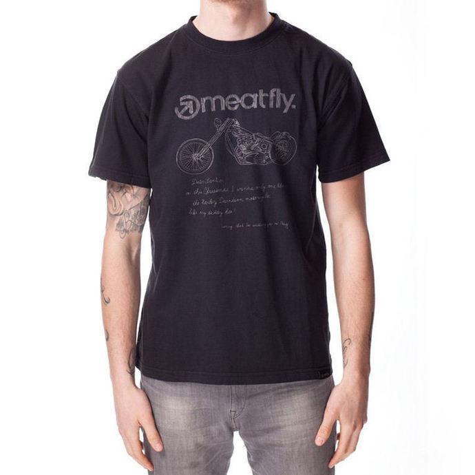 tričko pánské MEATFLY - WISHLIST B