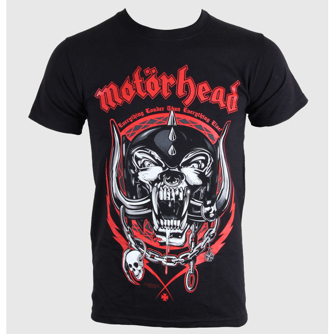 tričko pánské Motörhead - Lightning Wreath - Black - ROCK OFF