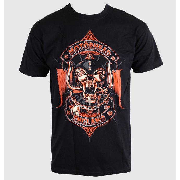 tričko pánské Motörhead - Orange - Black - ROCK OFF