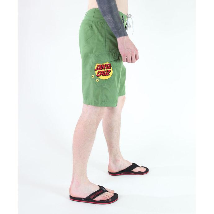 plavky pánské (kraťasy) SANTA CRUZ - HAND - MINT GREEN