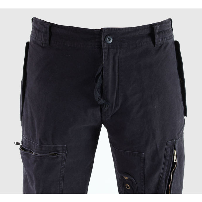 kalhoty pánské MIL-TEC - Fliegerhose - Prewash Black