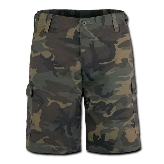 kraťasy pánské BRANDIT - Combat Shorts - Woodland